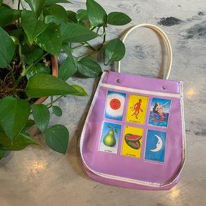 VTG 1990's Loteria Plastic Handbag